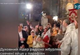 Онуфрій кидається крашанками: дивна поведінка московського митрополита шокувала мережу