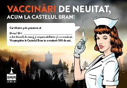 Як румунів заохочують щеплюватися: У замку Дракули в Трансильванії відкрили центр COVID-вакцинації