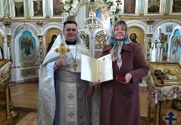 Відома волонтерка з Буковини Марія М'якота отримала нагороду від митрополита Епіфанія