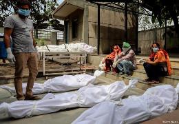 Загальна кількість загиблих від коронавірусу в Індії перевищила чвертьмільйона людей