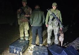У Красноїльську буковинські прикордонники ліквідували чергову спробу контрабандистів переправити цигарки до ЄС