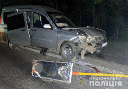 Поліція розшукали водія, який біля села Рингач своїм авто травмував охоронця бригади, що ремонтує ділянку траси Чернівці-Житомир