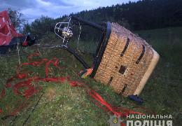 Біля Кам'янця-Подільського упала повітряна куля з людьми на борту: один загиблий, п'ятеро важко травмовані. Стали відомі деталі трагедії