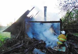 На Буковині за вихідні ліквідовано 14 пожеж, на одній з них загинула людина