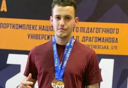 Поліцейський з Чернівців посів два призових місця на чемпіонаті України з кікбоксингу