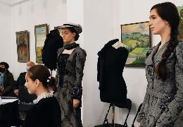 """У мистецькій галереї """"Вернісаж"""" відбулась стилізована імпреза """"Леся Українка: право на особисте..."""", присвячена 150 річниці від дня народження письменниці"""