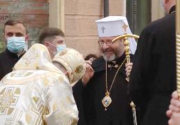 Патріарх УГКЦ Святослав відвідує Чернівці