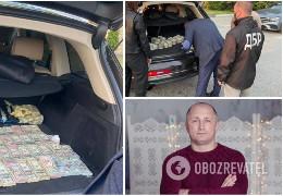 """""""Смотрящєго"""" за волинською митницею затримали із $700 тисячами в авто. Раніше він претендував на посаду керівника Чернівецької митниці"""