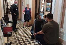 У ратуші Чернівців встановлюють турнікет для відвідувачів: виконують приписи МВС і СБУ