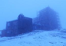 У Карпатах знову випав сніг
