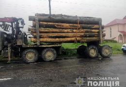 У Берегометі правоохоронці викрили водіїв двох вантажівок, які перевозили деревину за підробними документами