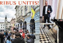 У Чернівецькій міській раді встановили турнікет як символ мудрої дурості, - журналіст Петро Кобевко