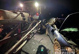 На Буковині сталося дві ДТП за участі тракторів. Є постраждалі