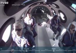Американський мільярдер Бренсон здійснив приватний туристичний політ в космос