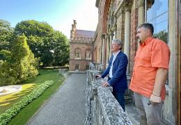 Міністр культури Ткаченко приїхав до Чернівців поговорити про реставрацію університетської церкви.  Залишилося лише знайти на це гроші…