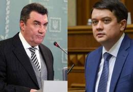 Данілов про закиди Разумкова: Хотів би послухати, хто в РНБО є олігарх. Енергоринок країни перебуває під контролем кількох бізнесменів