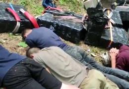Караван цигаркових контрабандистів затримано на Буковині