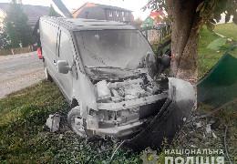 У селі Чудей водій буса на повній швидкості збив залізний паркан і врізався в дерево. Чоловік загинув на місці