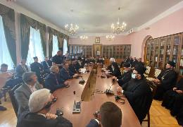 Патріарх Варфоломій зустрівся з представниками Всеукраїнської ради церков. Онуфрій не прийшов