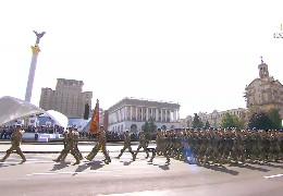 Урочистості і військовий парад до 30-річчя Незалежності України. Відеозапис