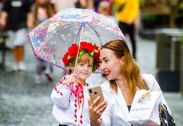 Як чернівчани відсвяткували 30-річницю Незалежності України (репортаж)