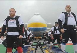 """Українські богатирі встановили світовий рекорд з перетягування """"Мрії"""": вражаюче відео"""