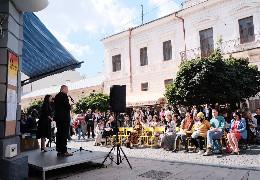 У Чернівцях стартував XII Міжнародний поетичний фестиваль Meridian Czernowitz