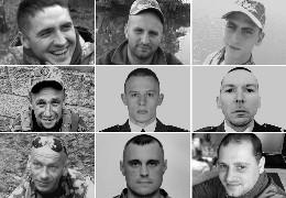 Загиблі серпня 2021: дев'ять облич полеглих за Україну Героїв...