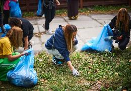 Школярів Буковини закликають приєднуватися до Всесвітнього дня прибирання. Тим більше, можна виграти подарунки