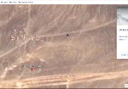 Блогер знайшов в Google Earth гігантський напис на території Йорданії про допомогу в пустелі