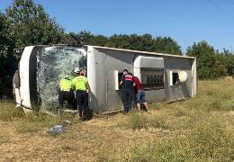 У Туреччині автобус з українськими туристами потрапив у ДТП. Є загиблі