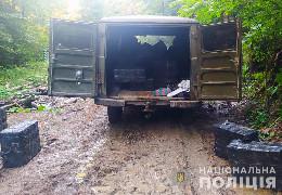 Поблизу кордону з Румунією буковинські правоохоронці вилучили тютюнові вироби на пів мільйона гривень