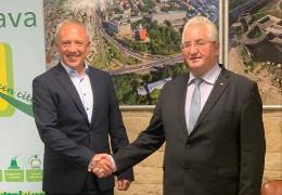 Вірний хід: Клічук відвідав румунську Сучаву з якою Чернівці відновлюють тісні партнерські відносини
