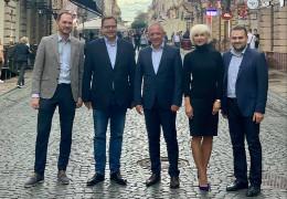Президент торговельної палати США в Україні Енді Хандер відвідав Чернівці