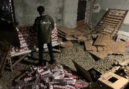 Понад 50 тисяч пачок: на Буковині викрито склад з контрафактними цигарками