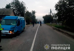У Дністровському районі мотоцикліст врізався у бус. Двоє загиблих