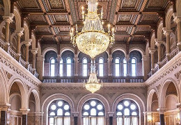 Чернівецький національний університет отримав майже 400 тисяч доларів на реставрацію Мармурової зали