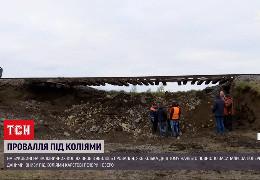Через нове провалля під колією на Буковині рух поїздів там можуть більше не відновити