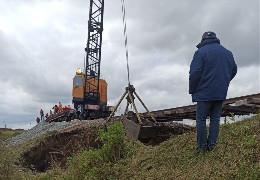 Осачук не вважає провалля під залізничною колією на Буковині надзвичайною ситуацією. Укрзалізниця попередила мера Чернівців, чому змушена відмінити потяг №117