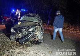 У Васловівцях внаслідок ДТП травмувалося двоє буковинців: автомобіль перкинувся у кювет